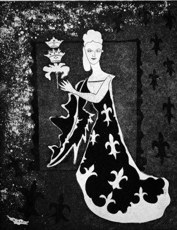 Eau-Forte Haz - La duchessa di Guermantes