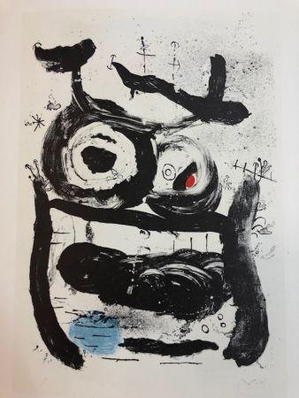 Lithographie Miró - La Emperatriz