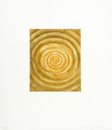 Eau-Forte Et Aquatinte Santibañez - La espiral caprichosa