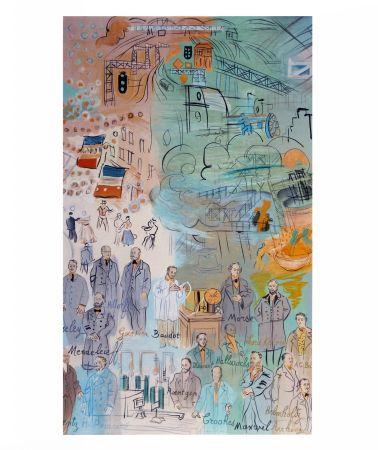 Lithographie Dufy - La fée électricité