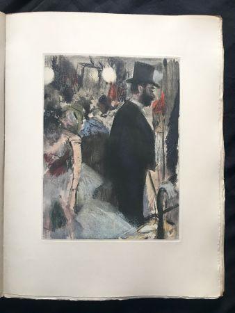 Livre Illustré Degas - LA FAMILLE CARDINAL.  (Ludovic Halévy). 1938