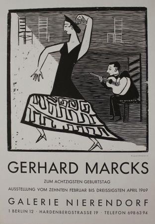 Gravure Sur Bois Marcks - La farucca
