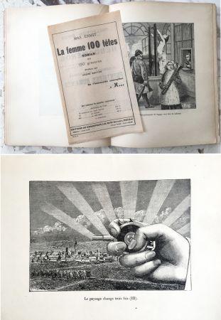 Livre Illustré Ernst - LA FEMME 100 TÊTES. Paris, 1929