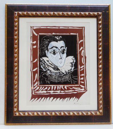 Lithographie Picasso - La Femme A La Fraise