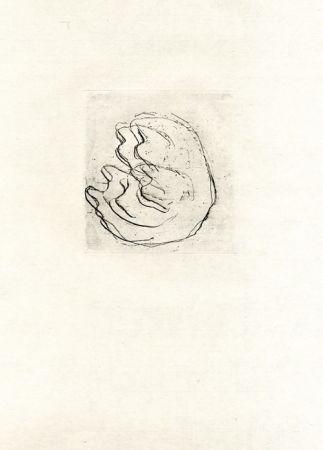 Eau-Forte Fautrier - La femmes aux seins