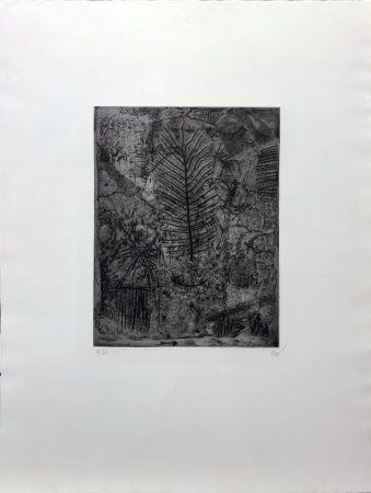 Gravure Clavé - La Feuille
