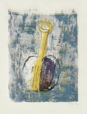 Lithographie Fautrier - La Fiole