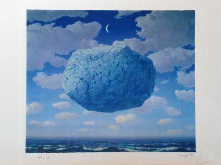 Lithographie Magritte - La Flèche de Zénon
