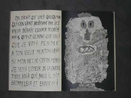 Livre Illustré Dubuffet - La fleur de barbe