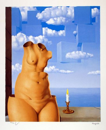 Lithographie Magritte - La Folie des Grandeurs II