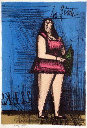 Lithographie Buffet - La géante