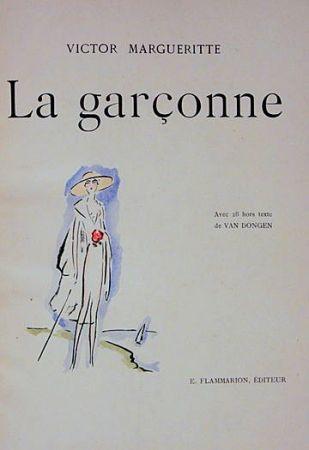 Livre Illustré Van Dongen - La garçonne