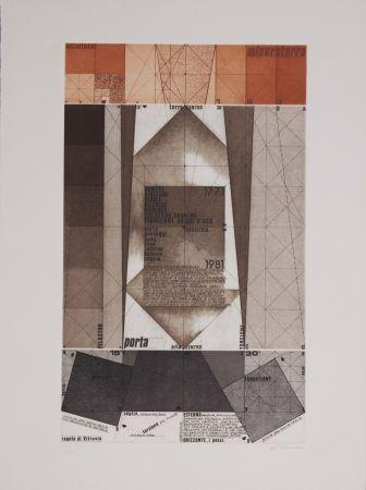 Eau-Forte Et Aquatinte Pomodoro - La geometria prattica