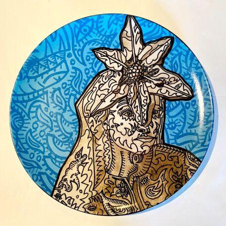 Céramique Combas - La Gitane magicienne