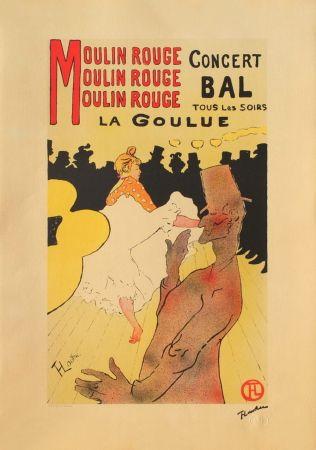 Lithographie Toulouse-Lautrec - LA GOULUE AU MOULIN-ROUGE II