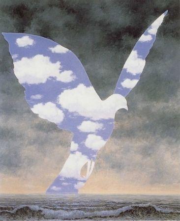 Lithographie Magritte - La grande famille