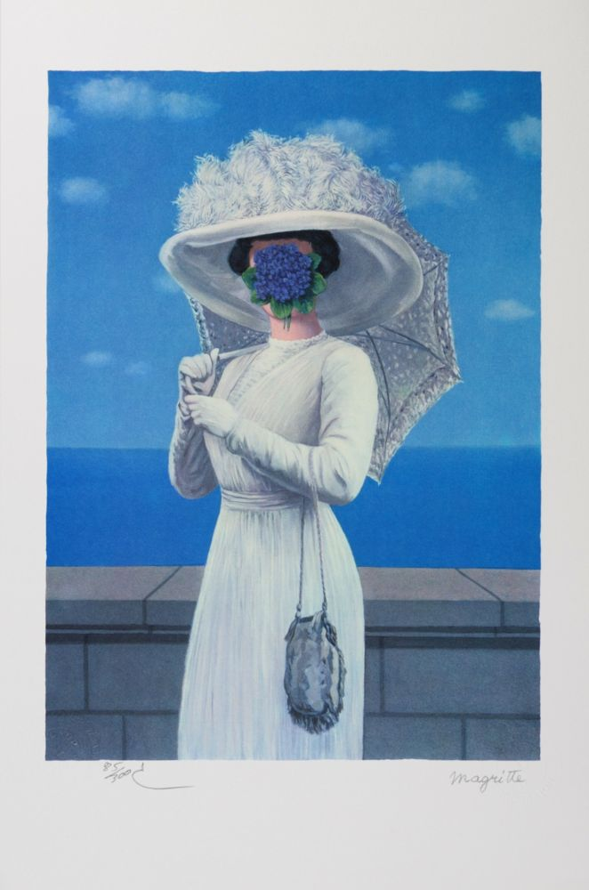 Lithographie Magritte - La Grande Guerre (The Great War)
