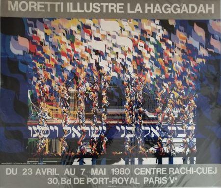 Affiche Moretti - La Haggadah
