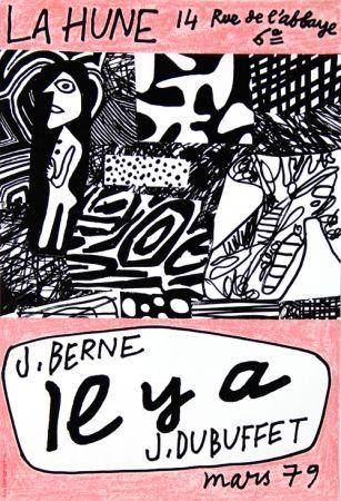 Affiche Dubuffet - La Hune  J Berne Il y a