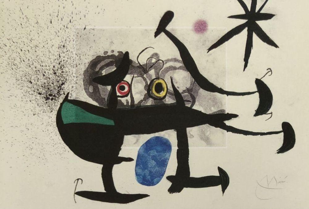Eau-Forte Et Aquatinte Miró - La Invención de la mirada