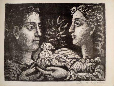 Lithographie Picasso - LA JEUNESSE