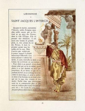 Livre Illustré Lunois - La légende dorée