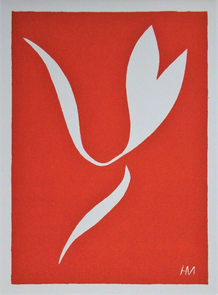 Linogravure Matisse - La Lance