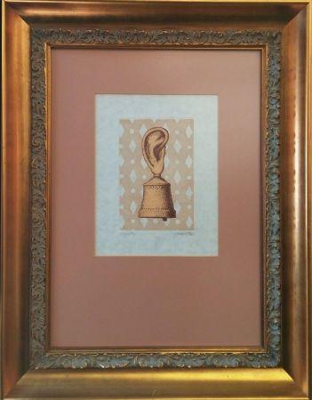 Gravure Magritte - LA LECON DE MUSIQUE