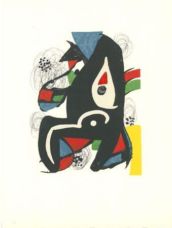 Lithographie Miró - La mélodie acide - 10