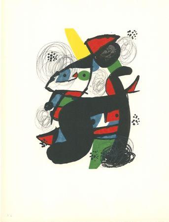 Lithographie Miró - La mélodie acide - 11