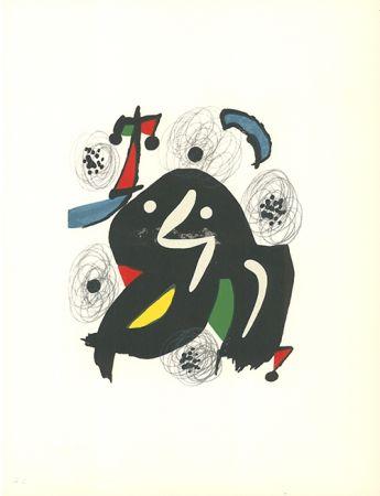Lithographie Miró - La mélodie acide - 4