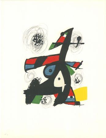 Lithographie Miró - La mélodie acide - 5