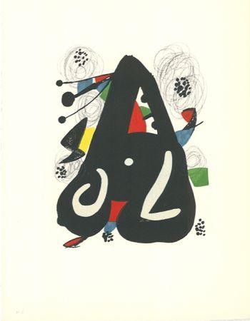 Lithographie Miró - La mélodie acide - 9