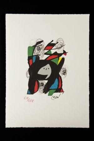 Lithographie Miró - La mélodie acide VIII