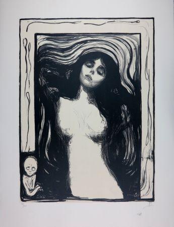 Lithographie Munch - LA MADONE / MADONNA - 1895