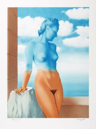 Lithographie Magritte - La Magie Noire (Black Magic)
