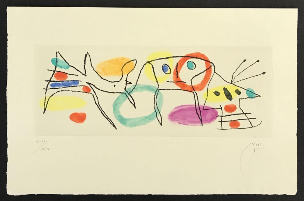 Gravure Miró - La Magie Quotidienne