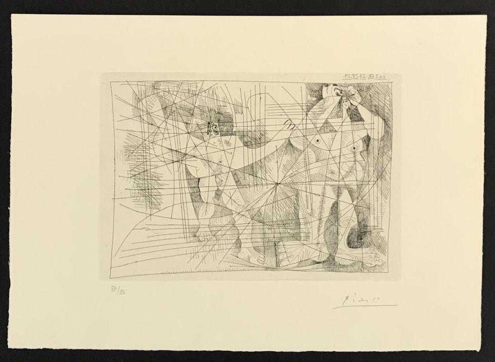 Gravure Picasso - La Magie Quotidienne