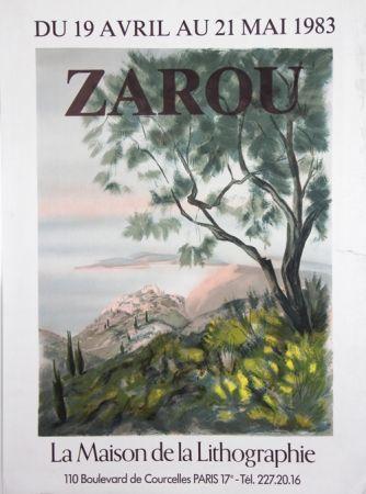 Lithographie Zarou - La Maison de la Lithographie