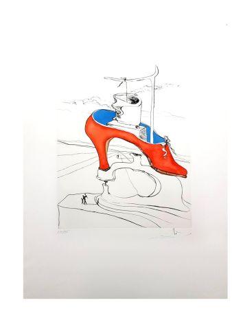 Lithographie Dali - La Malédiction Vaincu