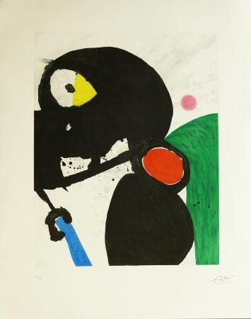 Gravure Miró - La mangeuse de crabes