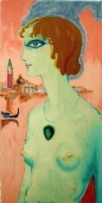 Lithographie Van Dongen - La Marchese Luisa Casati