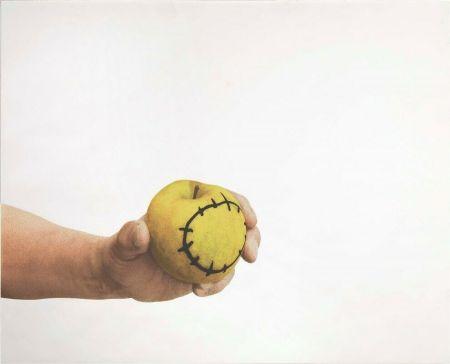 Sérigraphie Pistoletto - La mela reintegrata