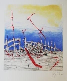 Eau-Forte Et Aquatinte Tacla - La memoria