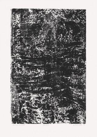 Lithographie Dubuffet - La Mer (Phénomènes)