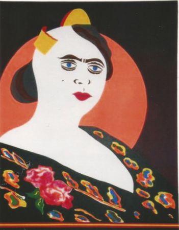 Lithographie Arroyo - La moglie del Minatore p. Martinez, Constantina