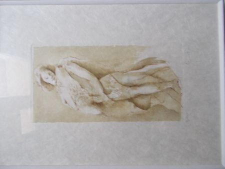 Lithographie Fini - La Mort Douce