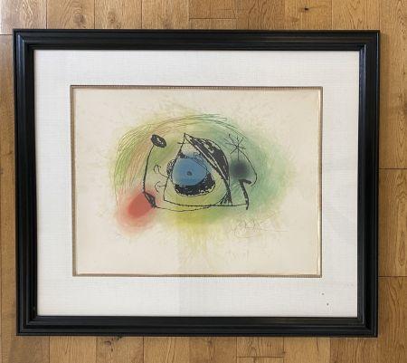Eau-Forte Et Aquatinte Miró - La Musaraigne (
