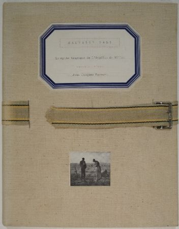 Livre Illustré Dali - La mythe tragique de l'Angélus de Millet.