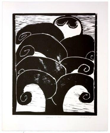 Gravure Sur Bois Alechinsky - La naissance d'Eros